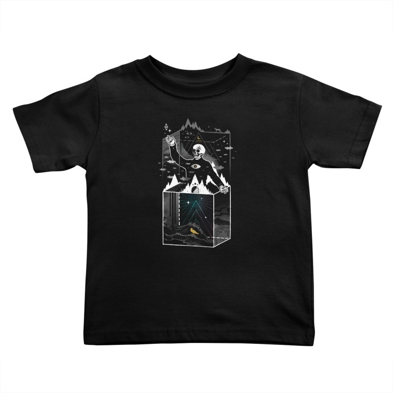 Existential Isolation Kids Toddler T-Shirt by ordinary fox