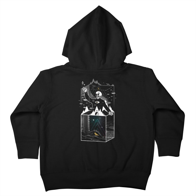 Existential Isolation Kids Toddler Zip-Up Hoody by ordinaryfox
