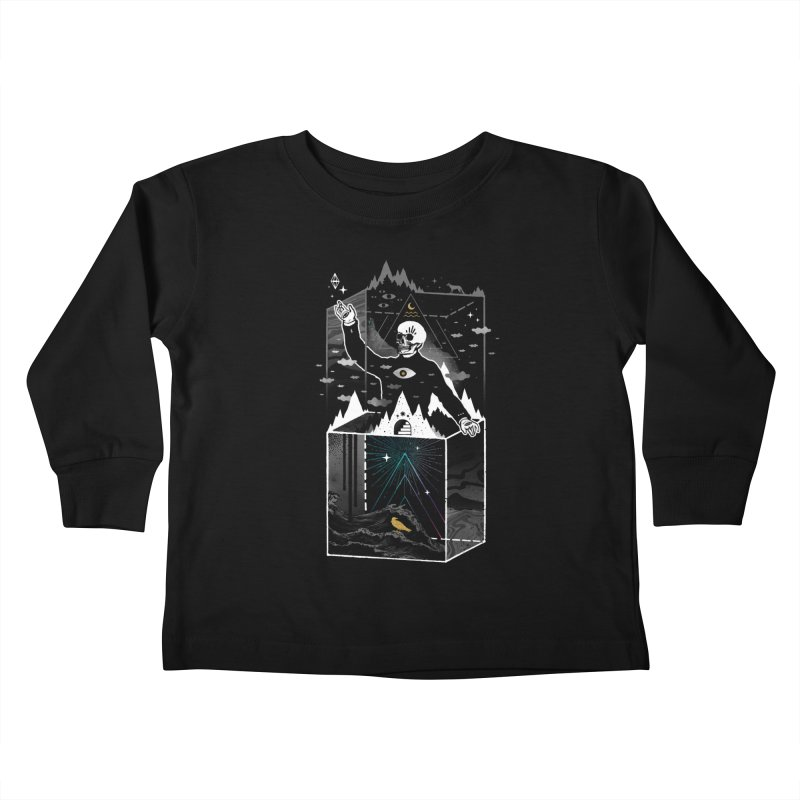 Existential Isolation Kids Toddler Longsleeve T-Shirt by ordinary fox