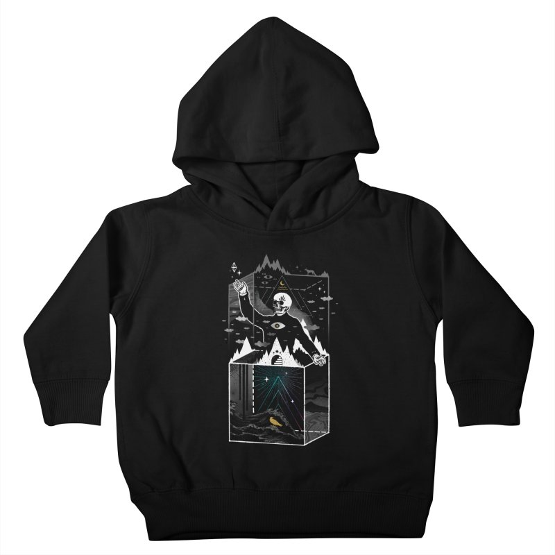 Existential Isolation Kids Toddler Pullover Hoody by ordinary fox