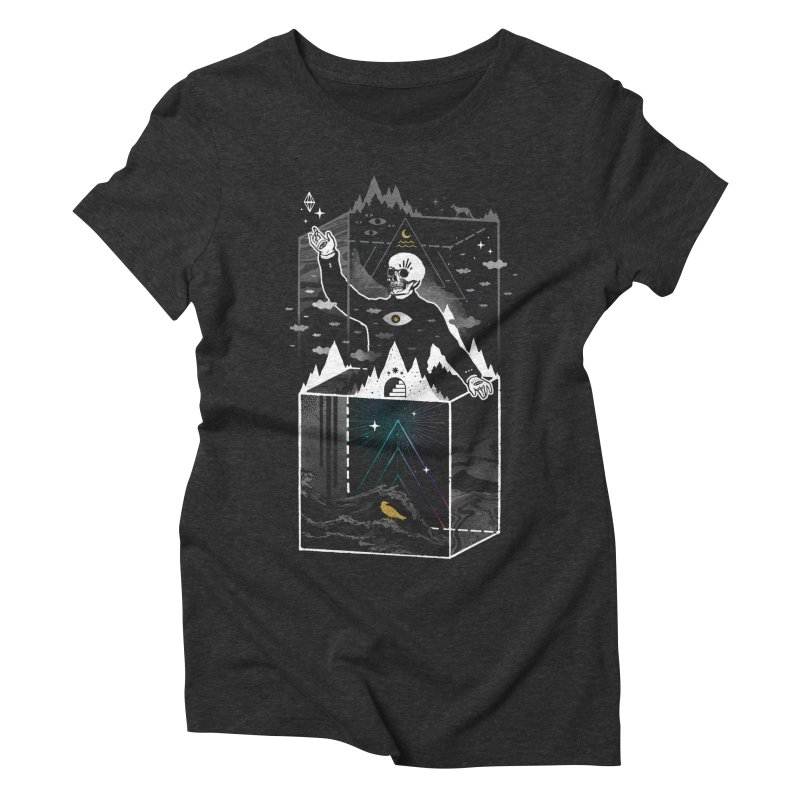 Existential Isolation Women's Triblend T-Shirt by
