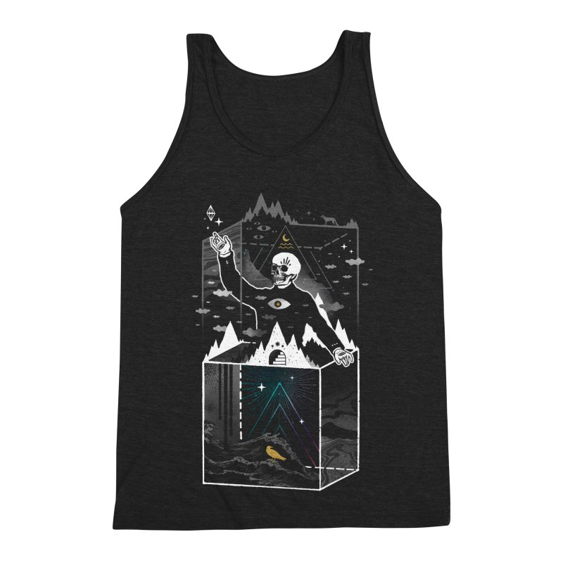 Existential Isolation Men's Triblend Tank by ordinary fox