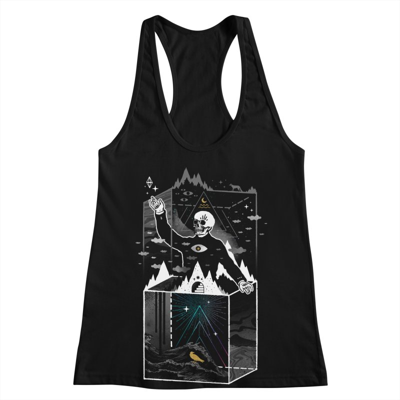 Existential Isolation Women's Racerback Tank by ordinary fox