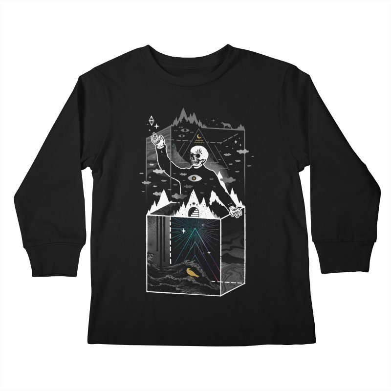 Existential Isolation Kids Longsleeve T-Shirt by ordinary fox