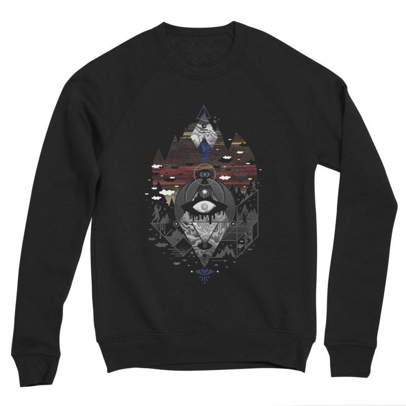 Oversighted Men's Sponge Fleece Sweatshirt by ordinary fox