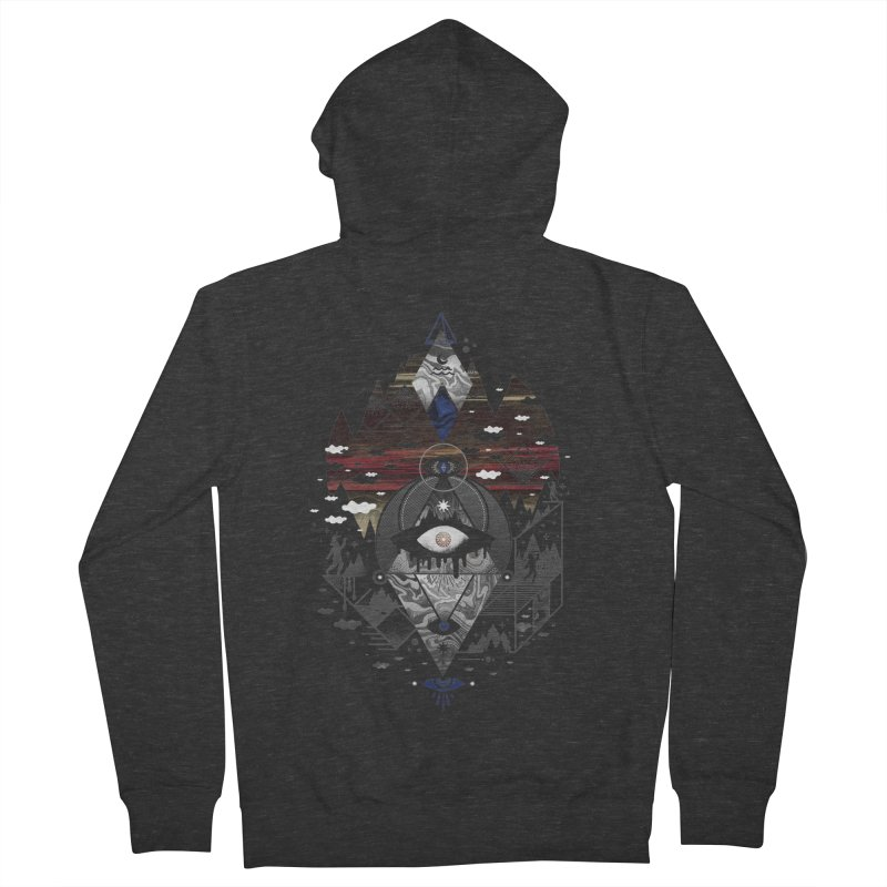 Oversighted Men's French Terry Zip-Up Hoody by