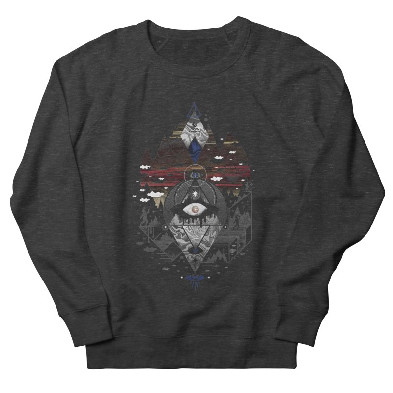 Oversighted Men's French Terry Sweatshirt by ordinary fox