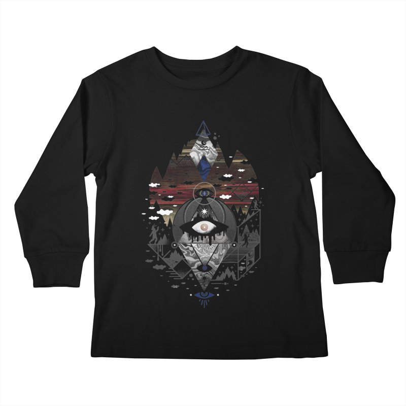 Oversighted Kids Longsleeve T-Shirt by ordinary fox