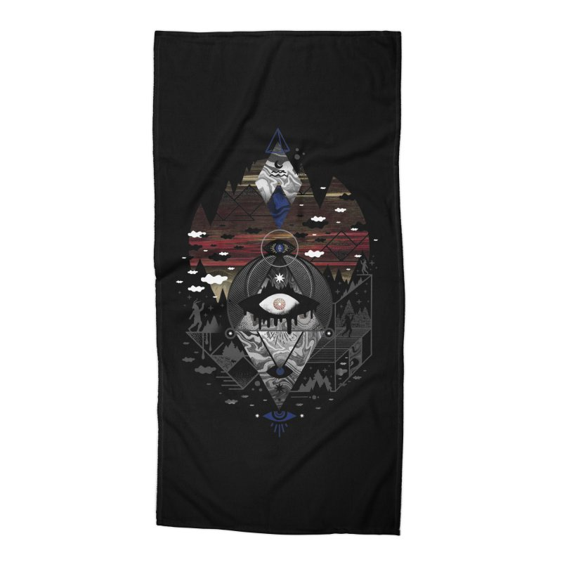 Oversighted Accessories Beach Towel by
