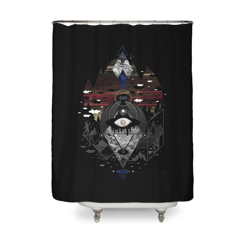 Oversighted Home Shower Curtain by ordinaryfox