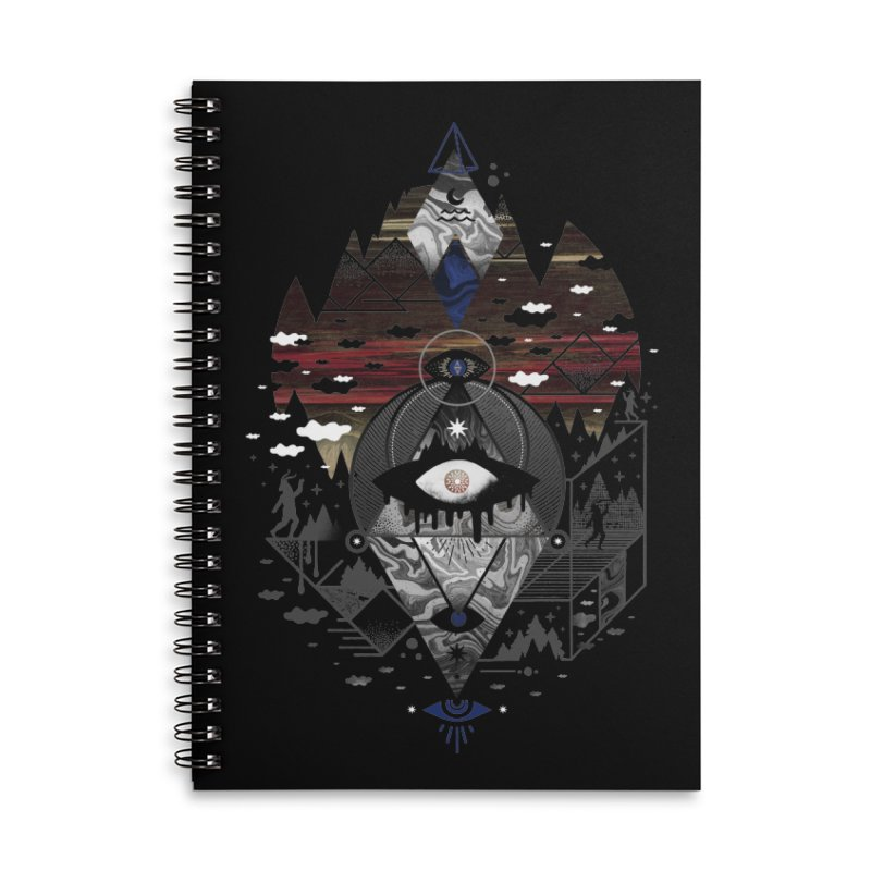 Oversighted Accessories Lined Spiral Notebook by