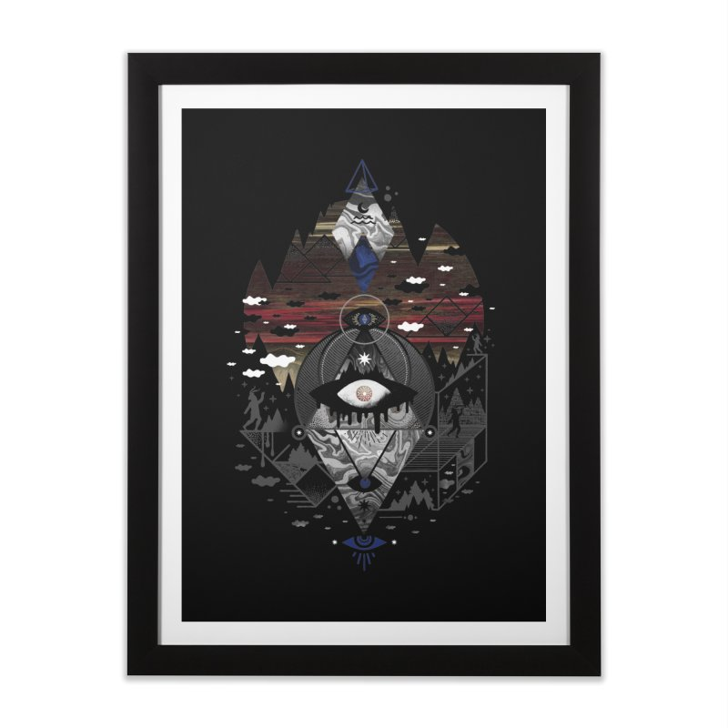 Oversighted Home Framed Fine Art Print by ordinary fox