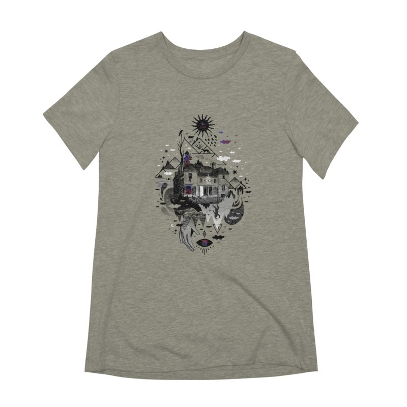 House is Not a Home Women's Extra Soft T-Shirt by ordinary fox