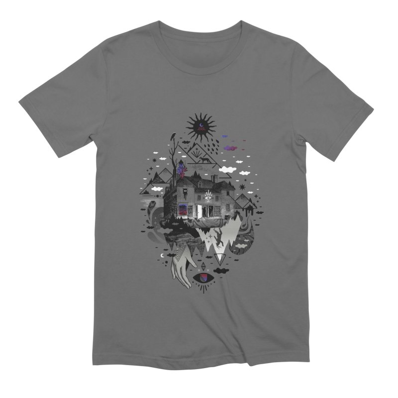 House is Not a Home Men's Extra Soft T-Shirt by ordinary fox
