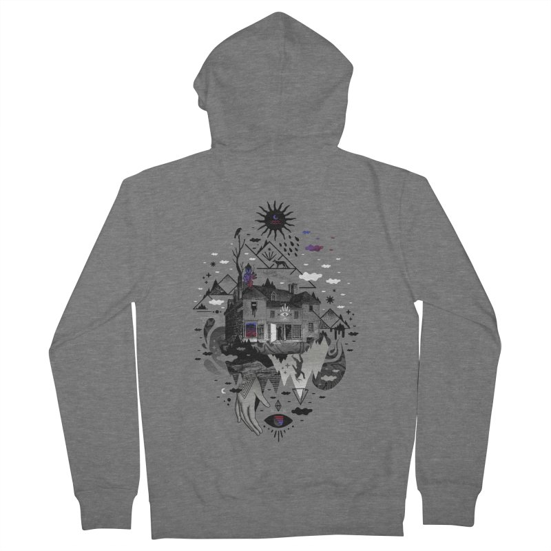House is Not a Home Men's French Terry Zip-Up Hoody by