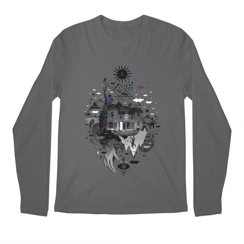 House is Not a Home Men's Regular Longsleeve T-Shirt by ordinary fox