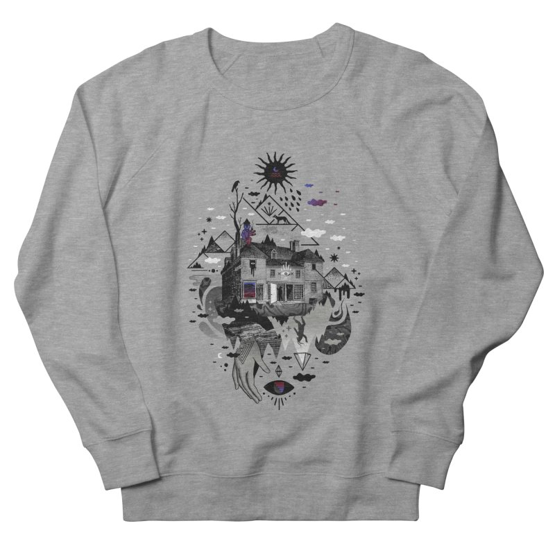 House is Not a Home Men's French Terry Sweatshirt by ordinary fox