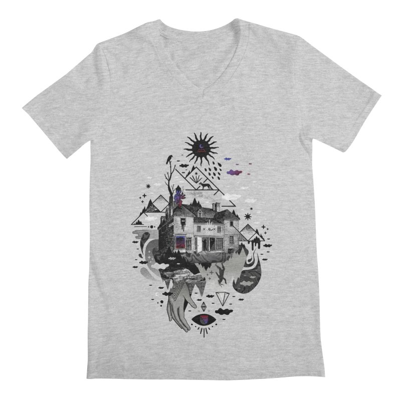 House is Not a Home Men's Regular V-Neck by