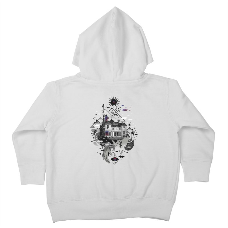 House is Not a Home Kids Toddler Zip-Up Hoody by ordinary fox