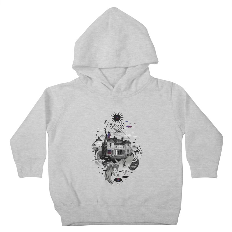 House is Not a Home Kids Toddler Pullover Hoody by ordinary fox