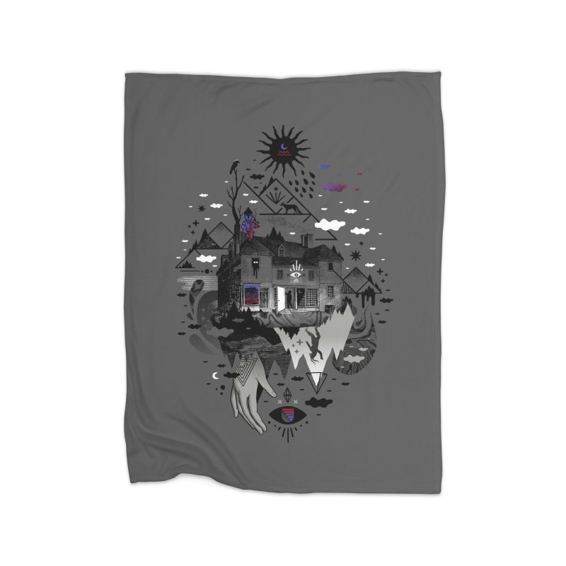 House is Not a Home Home Fleece Blanket Blanket by