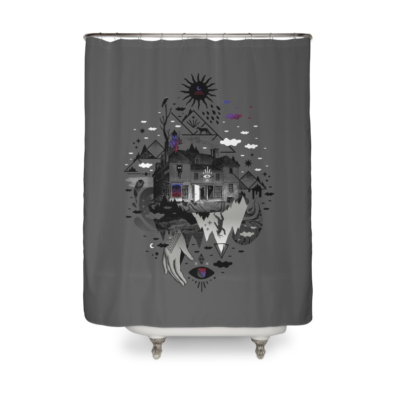 House is Not a Home Home Shower Curtain by ordinary fox