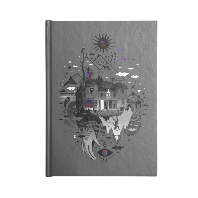 House is Not a Home Accessories Blank Journal Notebook by