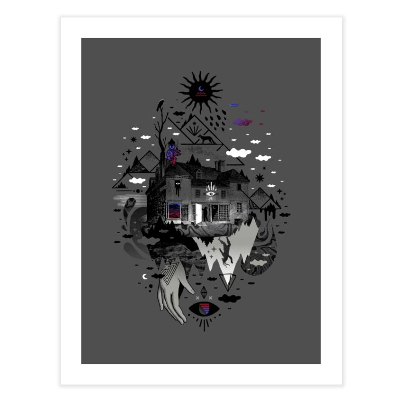 House is Not a Home Home Fine Art Print by ordinary fox