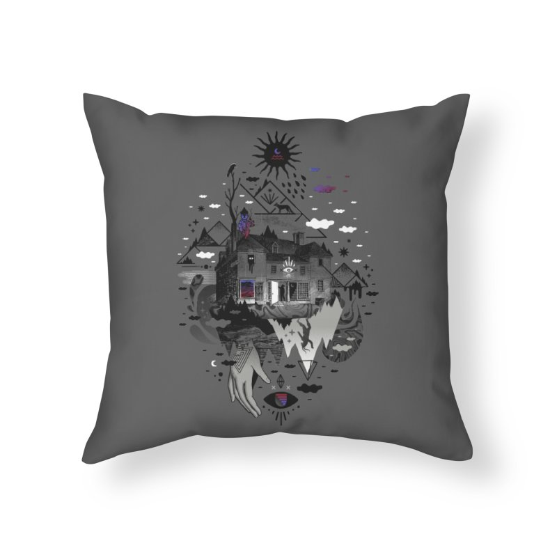 House is Not a Home Home Throw Pillow by ordinary fox