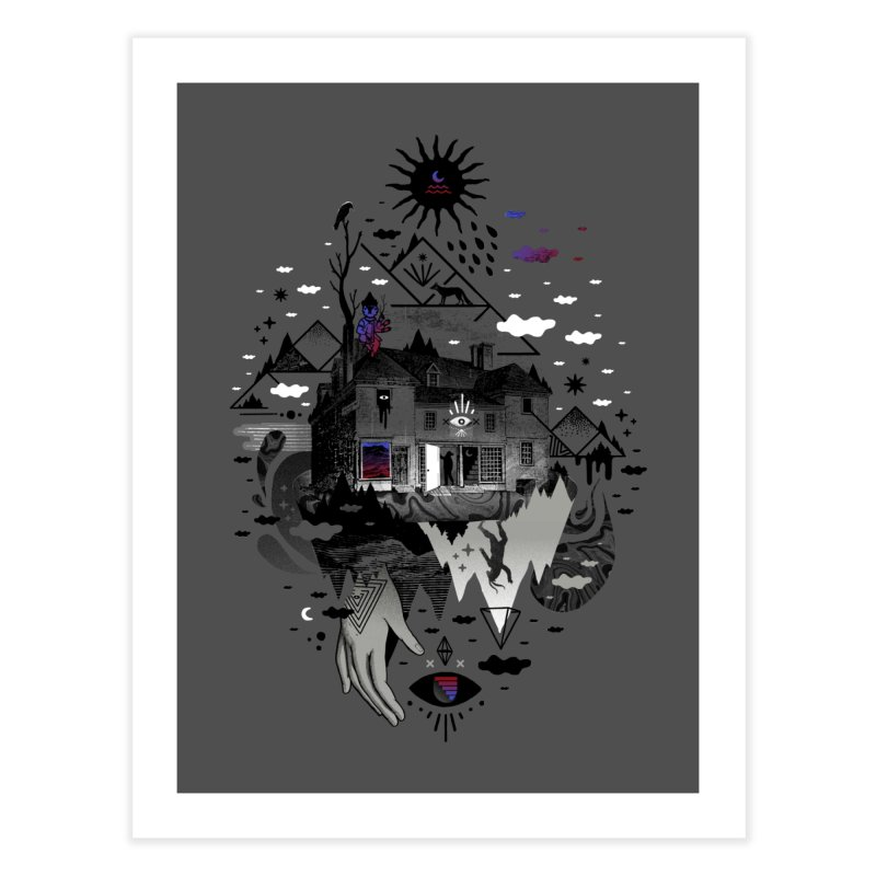 House is Not a Home Home Fine Art Print by