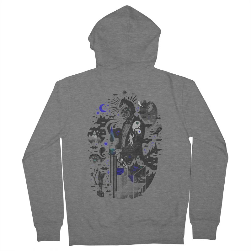 Extraordinary Popular Delusions Men's French Terry Zip-Up Hoody by