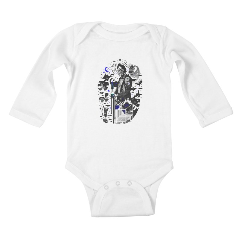 Extraordinary Popular Delusions Kids Baby Longsleeve Bodysuit by