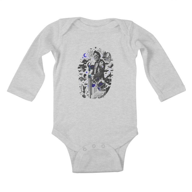 Extraordinary Popular Delusions Kids Baby Longsleeve Bodysuit by ordinary fox