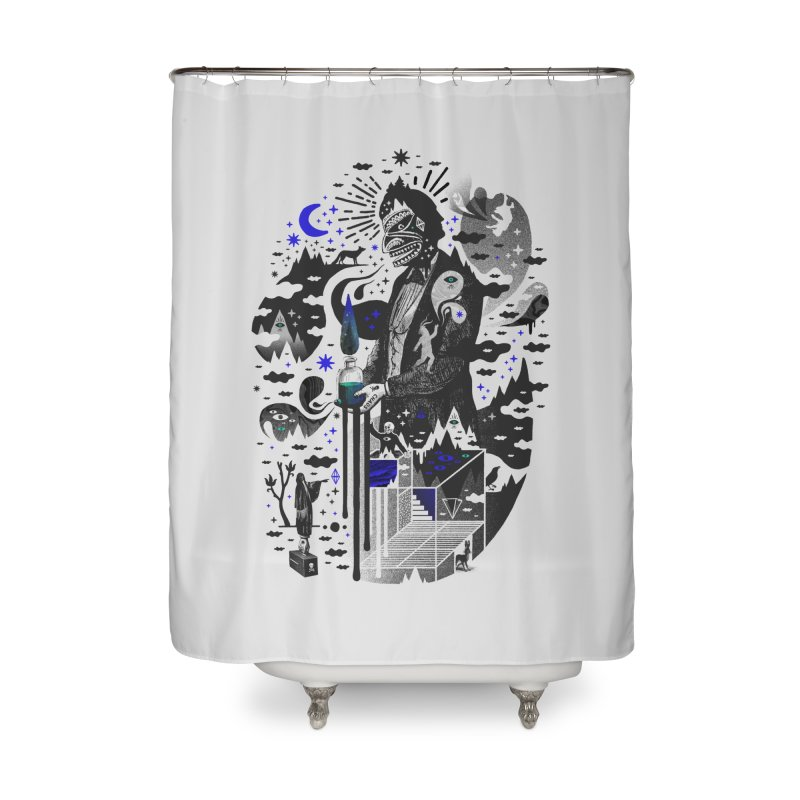Extraordinary Popular Delusions Home Shower Curtain by ordinary fox