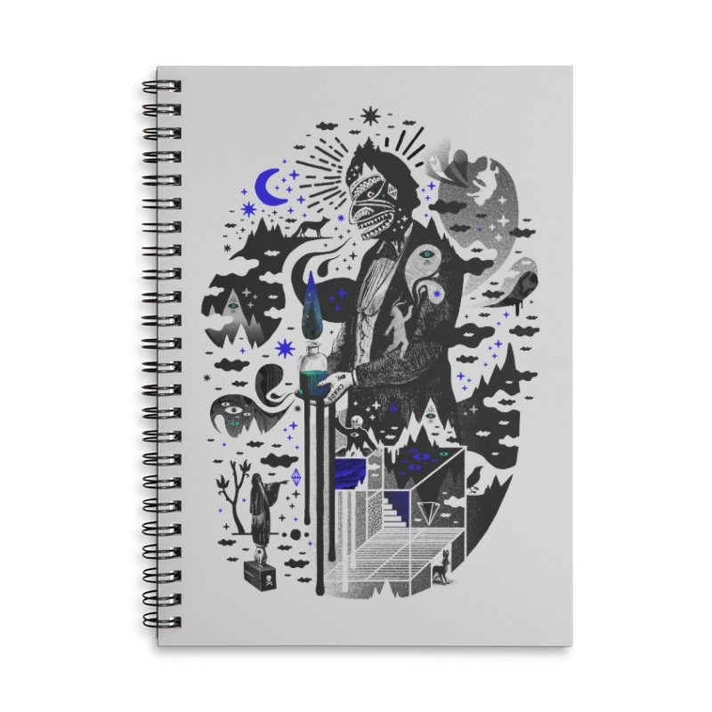Extraordinary Popular Delusions Accessories Lined Spiral Notebook by ordinary fox