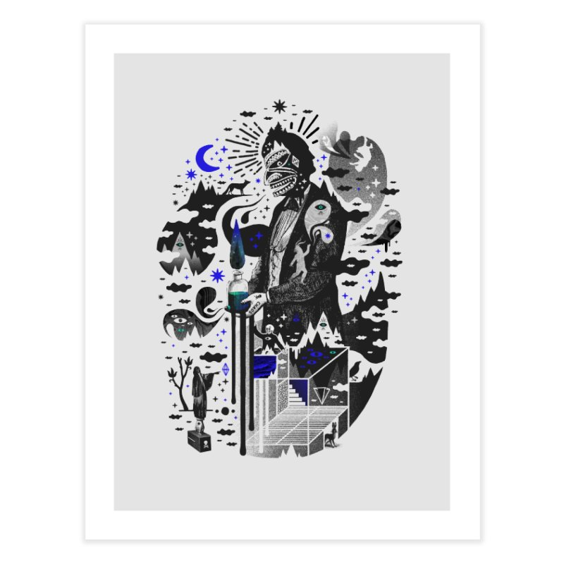 Extraordinary Popular Delusions Home Fine Art Print by ordinary fox
