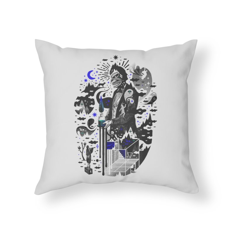 Extraordinary Popular Delusions Home Throw Pillow by ordinary fox