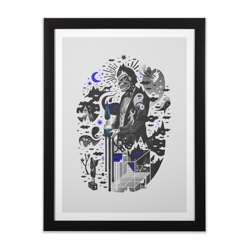 Extraordinary Popular Delusions Home Framed Fine Art Print by ordinary fox