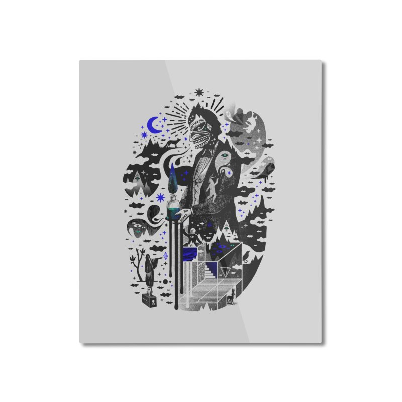 Extraordinary Popular Delusions Home Mounted Aluminum Print by ordinary fox