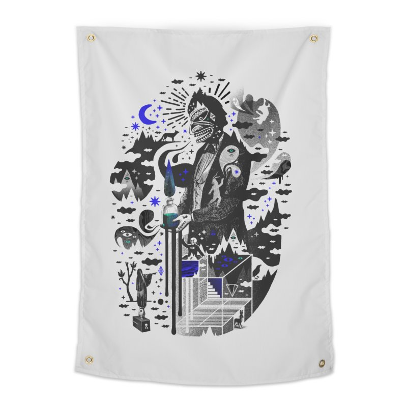 Extraordinary Popular Delusions Home Tapestry by ordinary fox