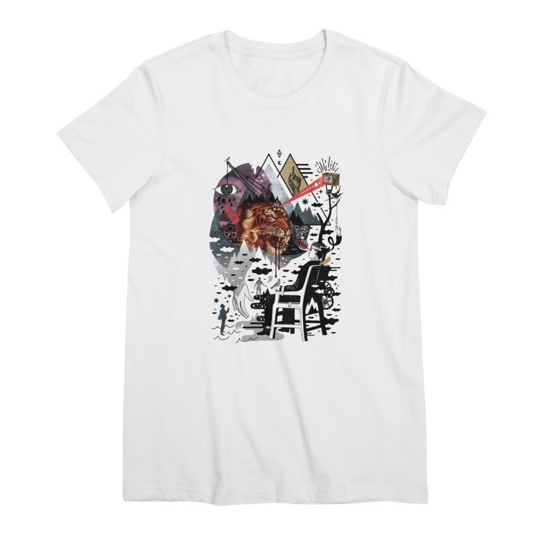 Hail Muse! Women's Premium T-Shirt by ordinary fox