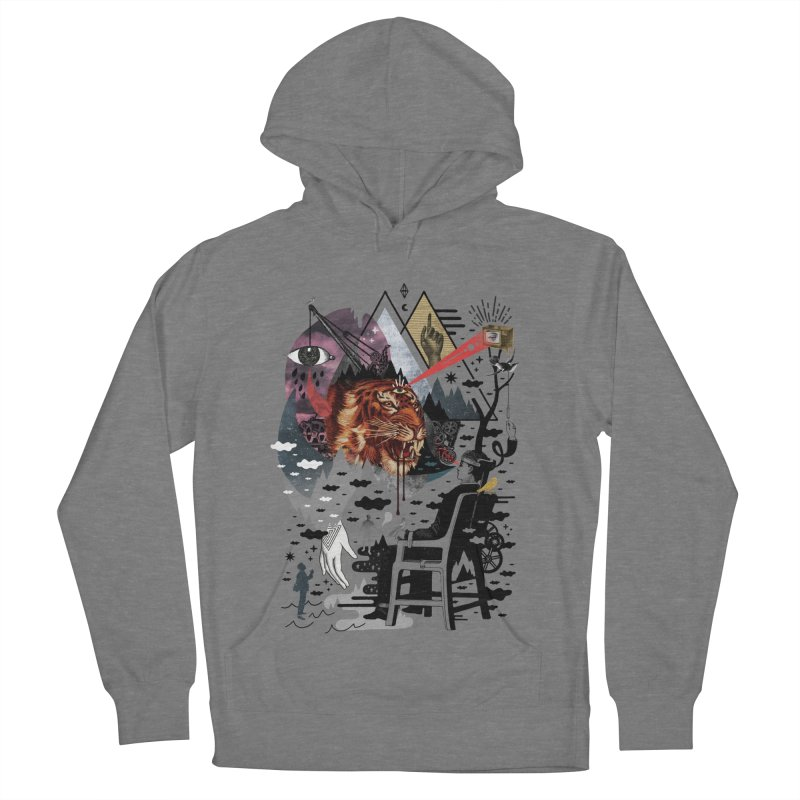 Hail Muse! Men's French Terry Pullover Hoody by ordinary fox