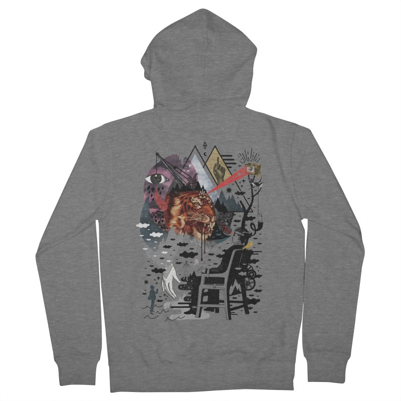 Hail Muse! Women's French Terry Zip-Up Hoody by ordinary fox