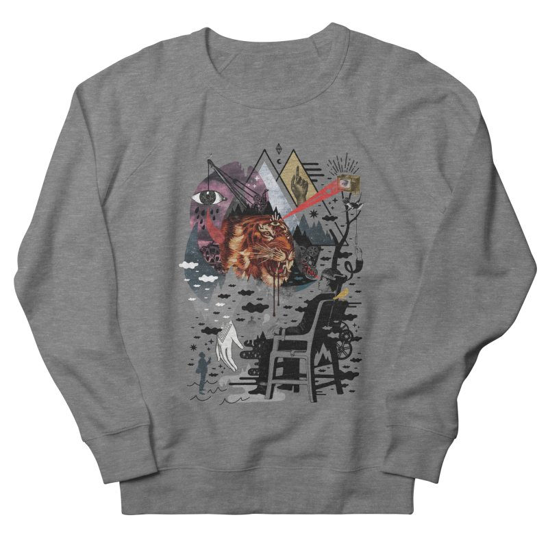 Hail Muse! Men's French Terry Sweatshirt by