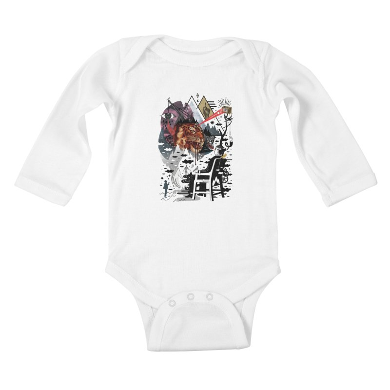Hail Muse! Kids Baby Longsleeve Bodysuit by