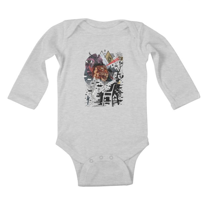 Hail Muse! Kids Baby Longsleeve Bodysuit by ordinary fox