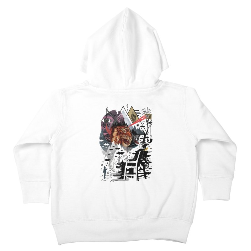 Hail Muse! Kids Toddler Zip-Up Hoody by ordinary fox