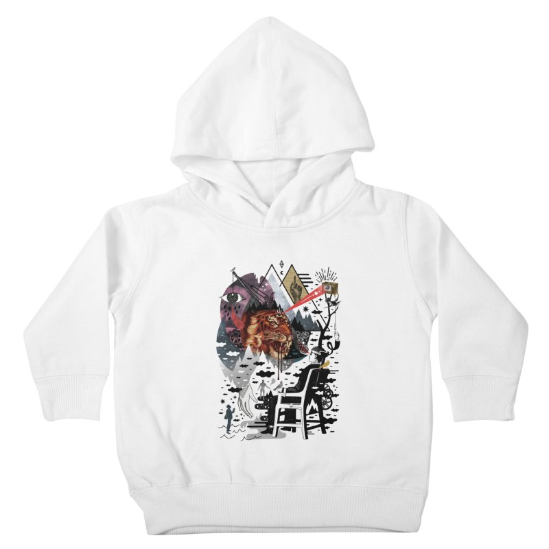 Hail Muse! Kids Toddler Pullover Hoody by ordinary fox