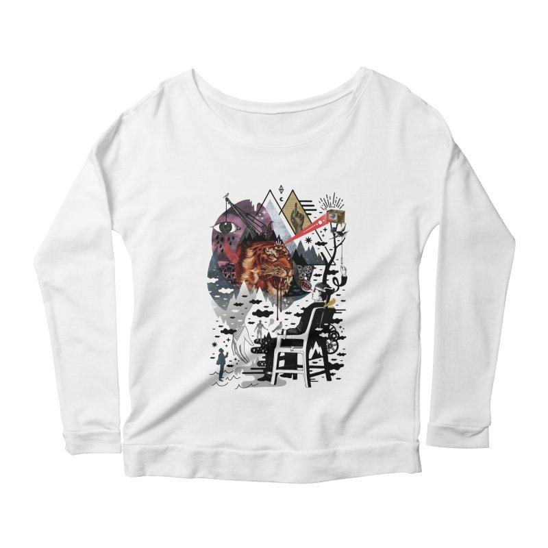 Hail Muse! Women's Scoop Neck Longsleeve T-Shirt by