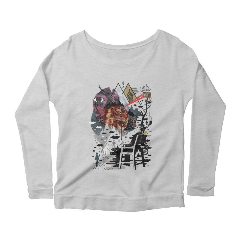Hail Muse! Women's Scoop Neck Longsleeve T-Shirt by ordinary fox